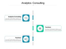 Analytics Consulting Ppt Powerpoint Presentation Inspiration Icons Cpb