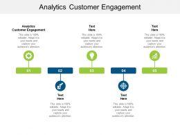 Analytics Customer Engagement Ppt Powerpoint Presentation Inspiration Cpb