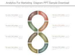 Analytics For Marketing Diagram Ppt Sample Download