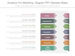 Analytics For Marketing Diagram Ppt Samples Slides