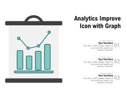 Analytics Improve Icon With Graph