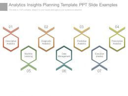 Analytics Insights Planning Template Ppt Slide Examples