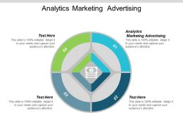 Analytics Marketing Advertising Ppt Powerpoint Presentation Gallery Ideas Cpb