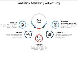 Analytics Marketing Advertising Ppt Powerpoint Presentation Show Cpb