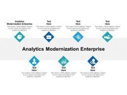 Analytics Modernization Enterprise Ppt Powerpoint Presentation Infographic Template Cpb
