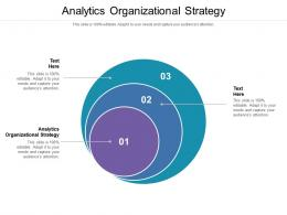 Analytics Organizational Strategy Ppt Powerpoint Presentation Layouts Designs Cpb