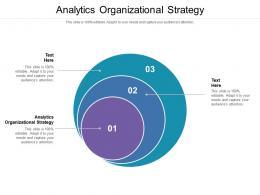 Analytics Organizational Strategy Ppt Powerpoint Presentation Layouts Designs Cpb