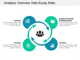 Analytics Overview Debt Equity Ratio Ppt Powerpoint Presentation Professional Pictures Cpb