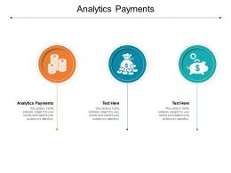 Analytics Payments Ppt Powerpoint Presentation Professional Summary Cpb