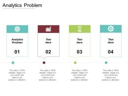 Analytics Problem Ppt Powerpoint Presentation File Layouts Cpb