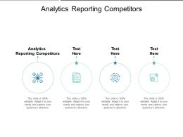 Analytics Reporting Competitors Ppt Powerpoint Presentation Gallery Graphics Cpb