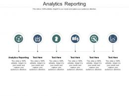 Analytics Reporting Ppt Powerpoint Presentation Professional Icon Cpb