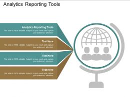 Analytics Reporting Tools Ppt Powerpoint Presentation File Format Ideas Cpb