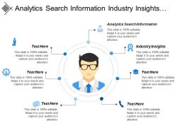 Analytics Search Information Industry Insights Multiple Outcomes Analysis