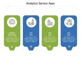 Analytics Service Aaas Ppt Powerpoint Presentation Professional Gallery Cpb
