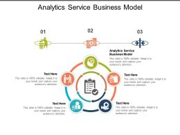Analytics Service Business Model Ppt Powerpoint Presentation Professional Cpb
