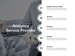 Analytics Service Provider Ppt Powerpoint Presentation Model Files Cpb