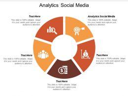 Analytics Social Media Ppt Powerpoint Presentation Show Diagrams Cpb