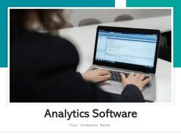 Analytics Software Experience Business Optimization Product Operational Manufacturing