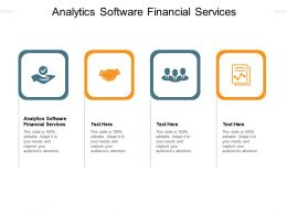 Analytics Software Financial Services Ppt Powerpoint Infographic Template Cpb
