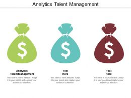Analytics Talent Management Ppt Powerpoint Presentation Outline Introduction Cpb