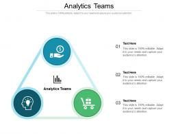 Analytics Teams Ppt Powerpoint Presentation Slides Objects Cpb