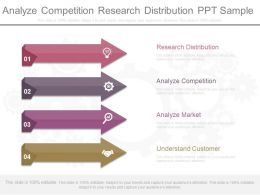 Analyze Competition Research Distribution Ppt Sample