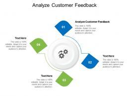 Analyze Customer Feedback Ppt Powerpoint Presentation Styles Objects Cpb