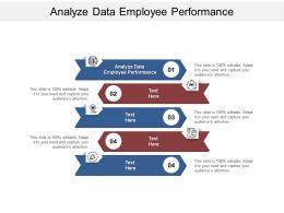 Analyze Data Employee Performance Ppt Powerpoint Presentation Professional Objects Cpb