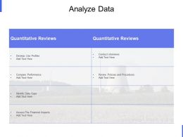 Analyze Data Quantitative Ppt Powerpoint Presentation Styles Design Ideas
