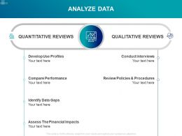 Analyze Data Quantitative Qualitative Ppt Powerpoint Presentation Designs