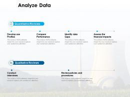Analyze Data Quantitative Reviews Ppt Powerpoint Presentation Outline Grid