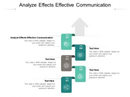 Analyze Effects Effective Communication Ppt Powerpoint Pictures Structure Cpb