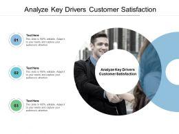 Analyze Key Drivers Customer Satisfaction Ppt Powerpoint Presentation Portfolio Templates Cpb