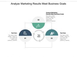 Analyze Marketing Results Meet Business Goals Ppt Powerpoint Presentation Ideas Example File Cpb