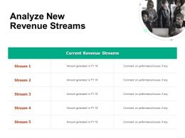 Analyze New Revenue Streams Amount Ppt Powerpoint Presentation Portfolio Portrait