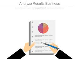 Analyze Results Business Ppt Slides