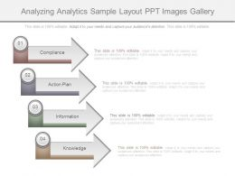 Analyzing Analytics Sample Layout Ppt Images Gallery