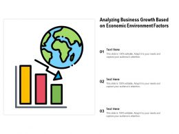 Analyzing Business Growth Based On Economic Environment Factors