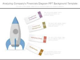 Analyzing Companys Financials Diagram Ppt Background Template