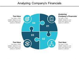 Analyzing Companys Financials Ppt Powerpoint Presentation Infographic Template Smartart Cpb