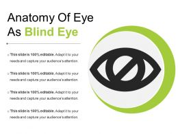 Anatomy Of Eye As Blind Eye