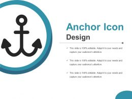 Anchor Icon Design