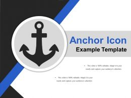 Anchor Icon Example Template