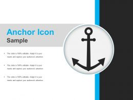 Anchor Icon Sample