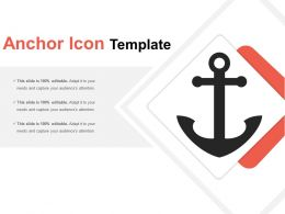 Anchor Icon Template