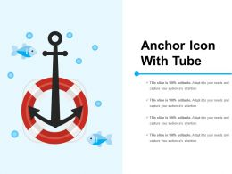 Anchor Icon With Tube