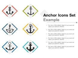 Anchor Icons Set Example1