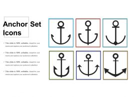 Anchor Set Icons