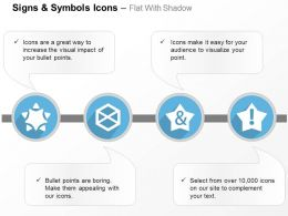 And Star Hexagon Design Ppt Icons Graphics